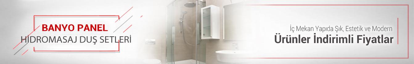 Banyo Panel Hidromasaj Duş Setleri