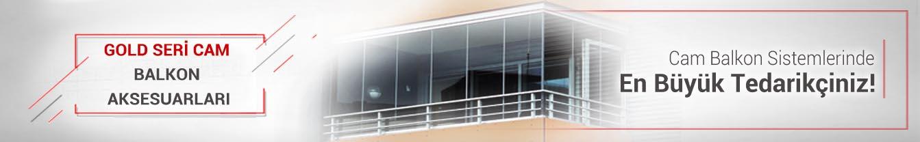 Gold Seri Cam Balkon Aksesuarları