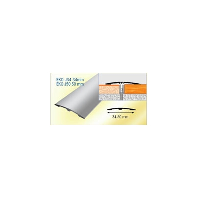 Alüminyum Geçiş Profili (Bantlı)