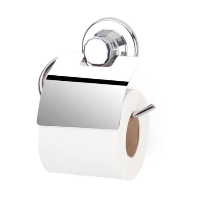 Vakumlu Krom Kapaklı Tuvalet Kağıtlık
