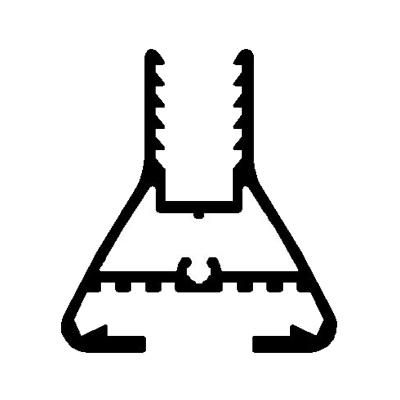 Duşakabin Makro Ege Seri Baza Profil Model : 4240