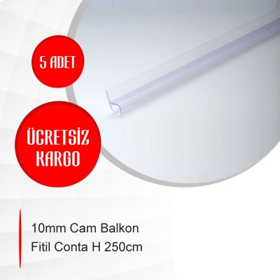 10mm Cam Balkon Fitil Conta H 250cm