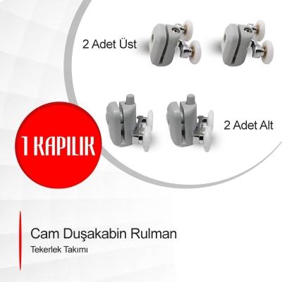Cam Duşakabin Rulman Tekerlek Takımı Model: ayt-01-1