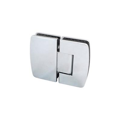 Yaylı Cam Kapı Menteşesi Elips (Camdan Cama) 180°