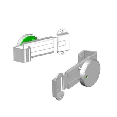 WC Alüminyum Sürgülü Kabin Kapı Kilidi